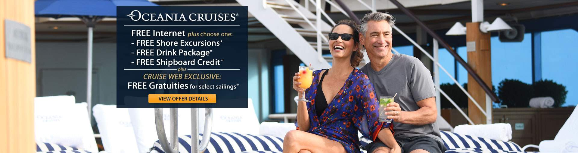 Oceania Cruises: OLife Choice Cruise Sale