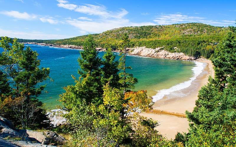 Acadia National Park Beach Canada Oceania Cruises