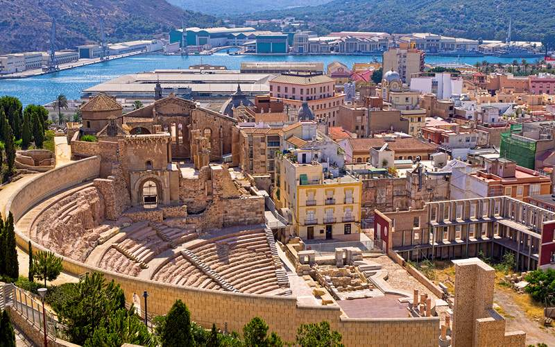 Roman Amphitheater, Spain Transatlantic Oceania