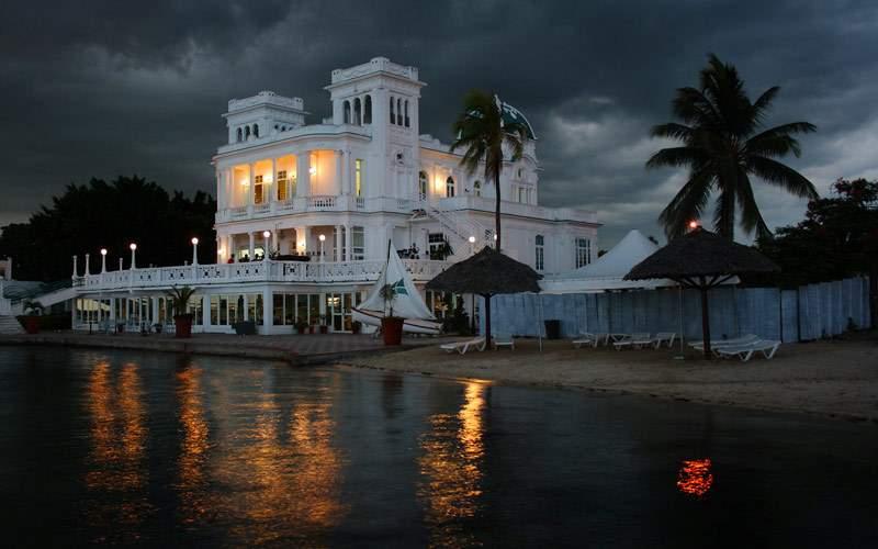 Cienfuegos, Cuba at Night