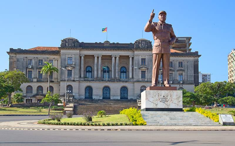 City hall Maputo Mozambique Oceania Cruises Africa