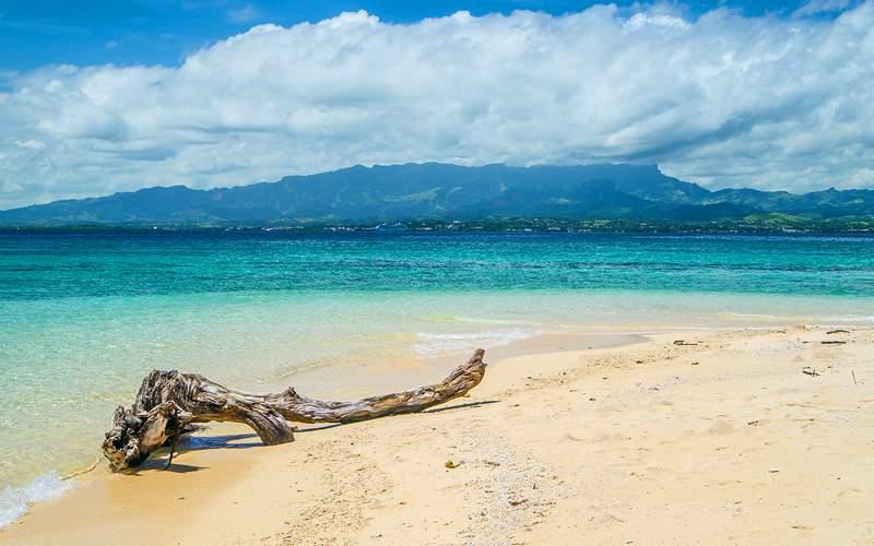 Desert Island off Lautoka South Pacific Oceania