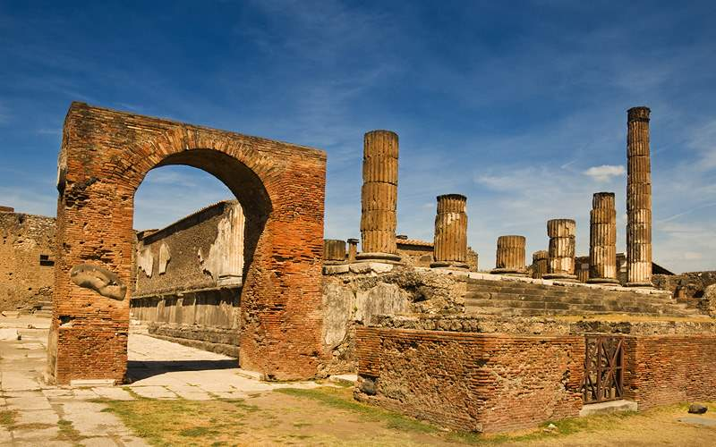 Pompeii, near Naples, Italy Oceania Cruise Europe