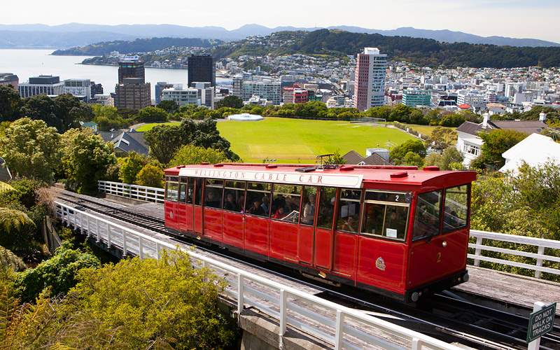 cable car Wellington, New Zealand Oceania Cruises