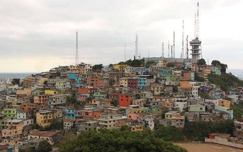 Las Penas in Guayaquil, Ecuador Oceania Cruises