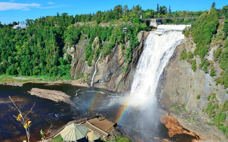 Montmorency Falls Quebec US Atlantic Coast Oceania