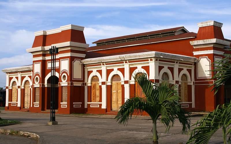 Old railway station, Granada, Nicaragua Oceania