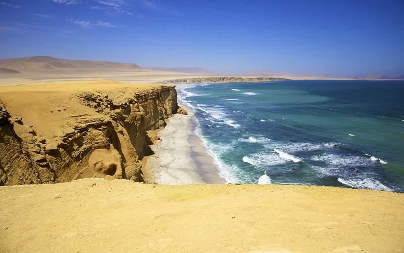 Paracas National Park Reserve, Peru Oceania Cruise