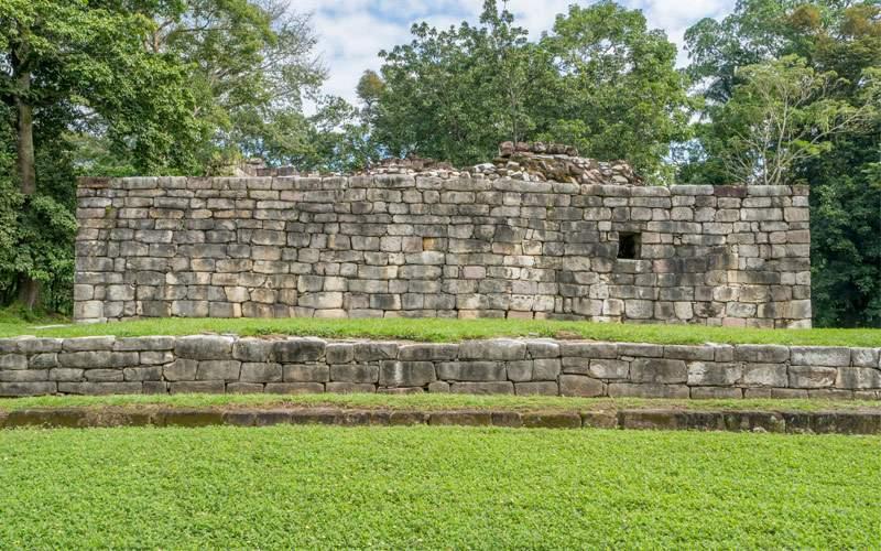 Mayan house remains Guatemala Panama Canal Oceania