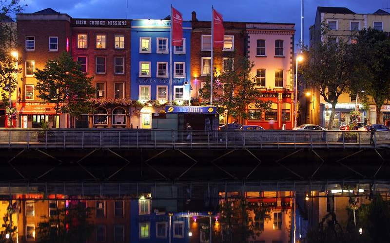 Riverside buildings Dublin Oceania Transatlantic