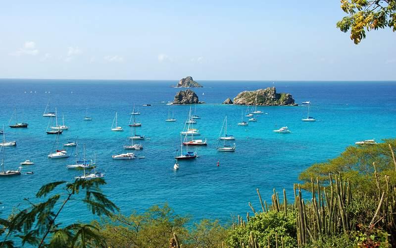 Gustavia harbor, St Barts Caribbean Oceania Cruise