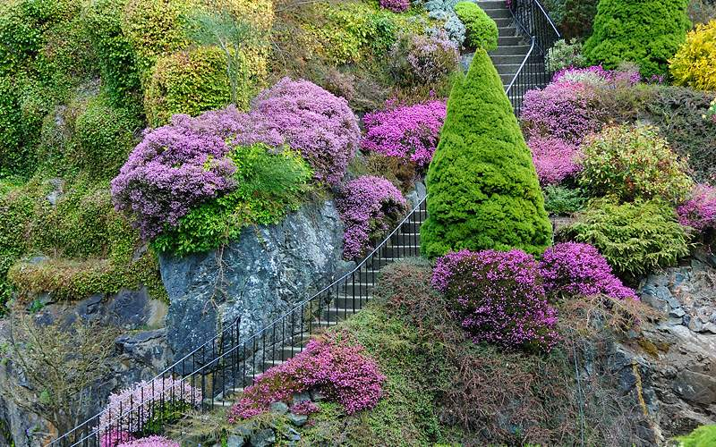 Butchart Gardens, Vancouver Oceania Cruises Alaska