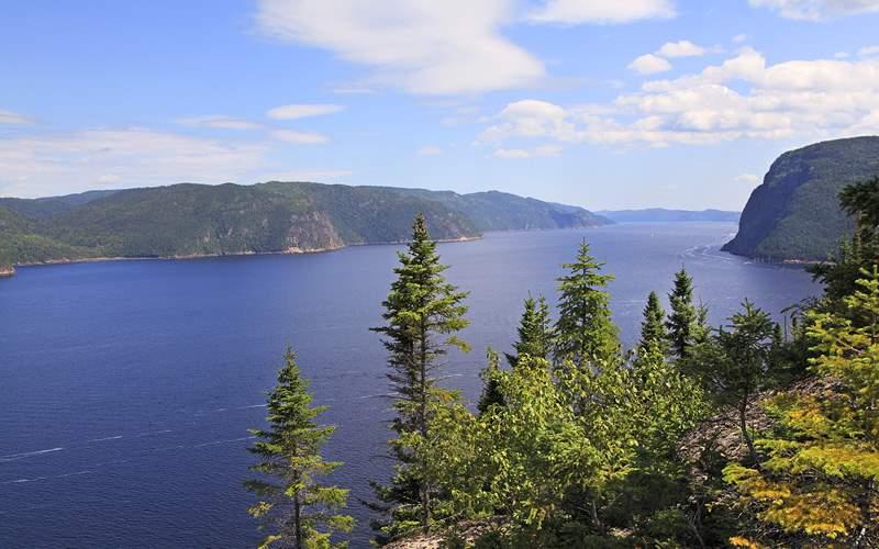 Saguenay Fjord in Quebec, Canada Oceania Cruises