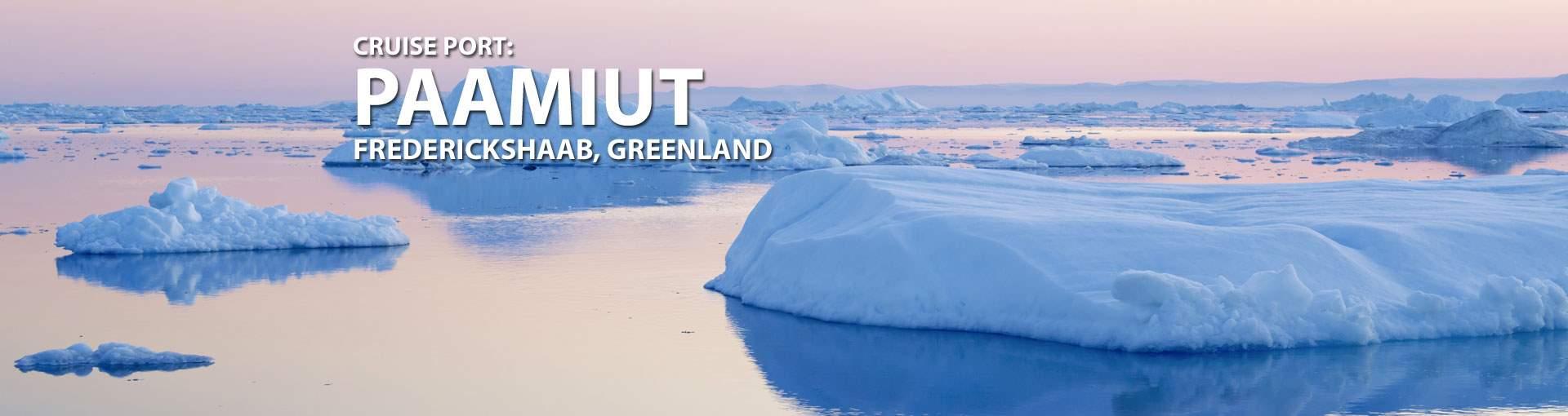 Cruises to Paamiut (Frederickshaab), Greenland