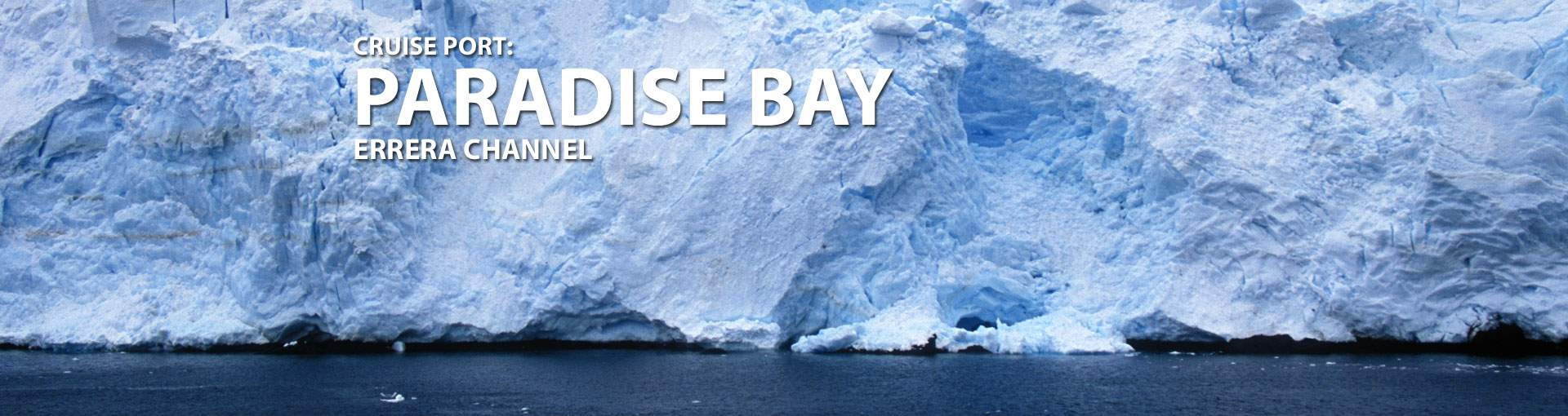 Cruises to Paradise Bay, Errera Channel