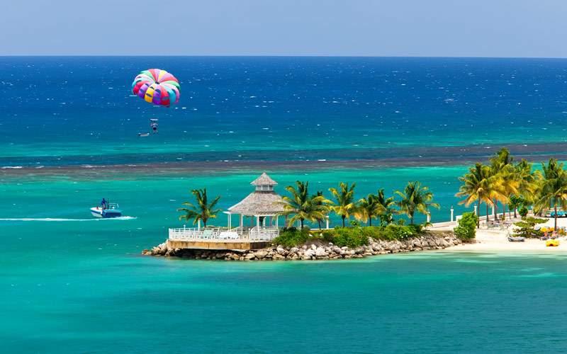 Parasailing Ochos Rios Jamaica
