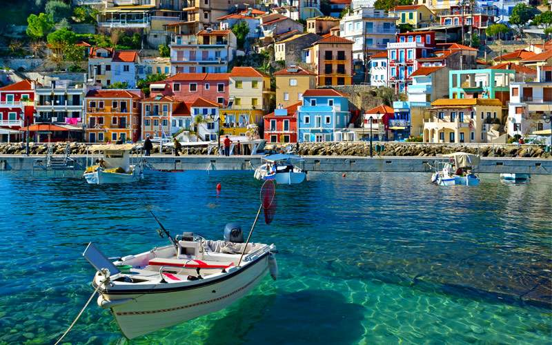 Parga boat Heaven on Earth Greece holidays