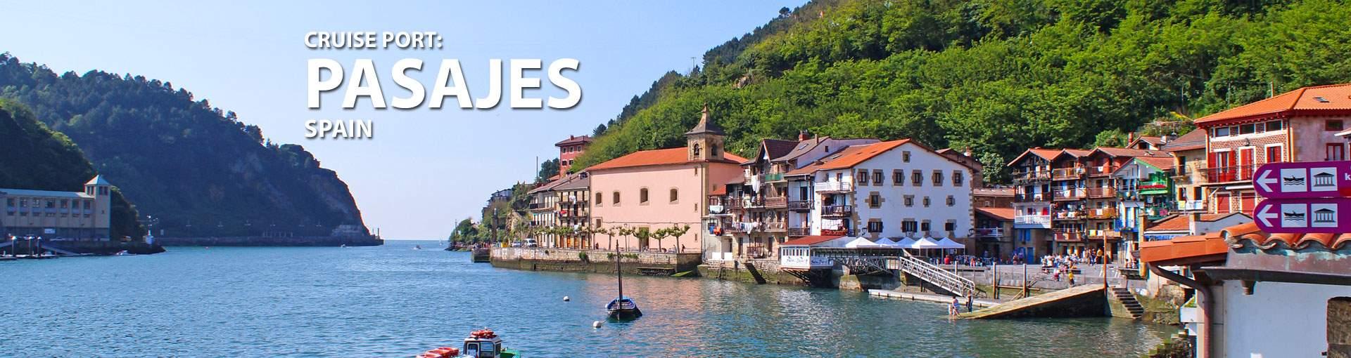 Cruises to Pasajes, Spain