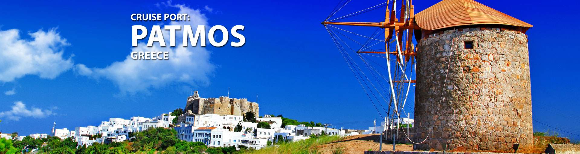 Cruises to Patmos, Greece