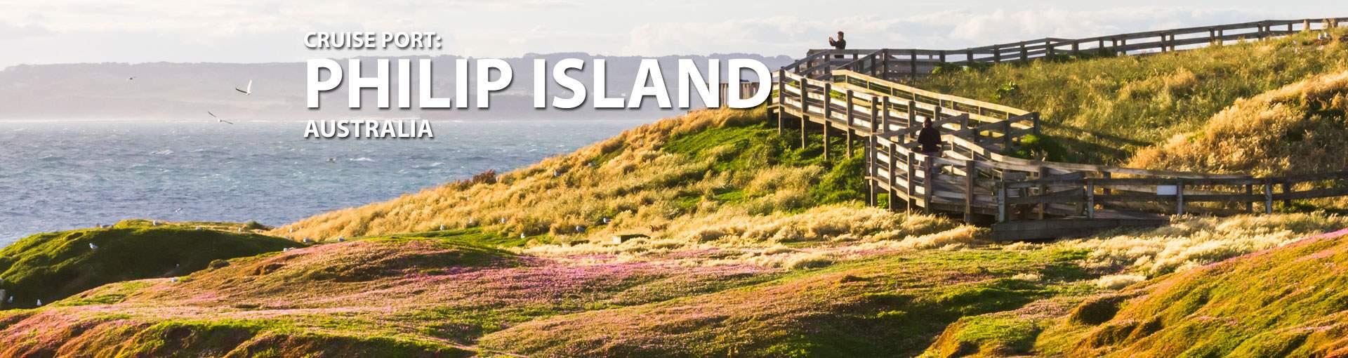 Cruises to Philip Island,Australia