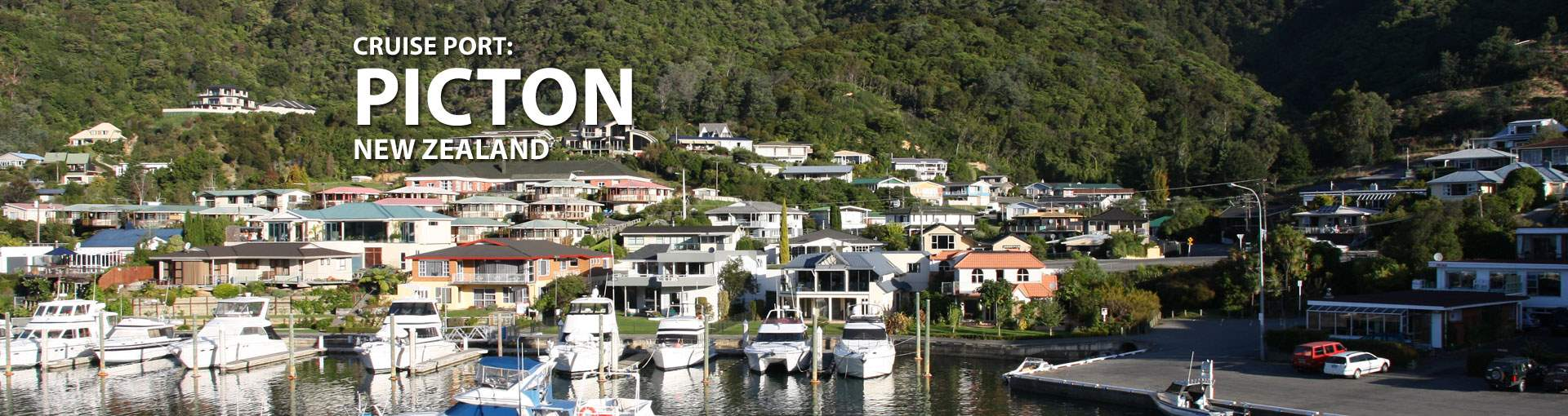 Cruises to Picton, New Zealand