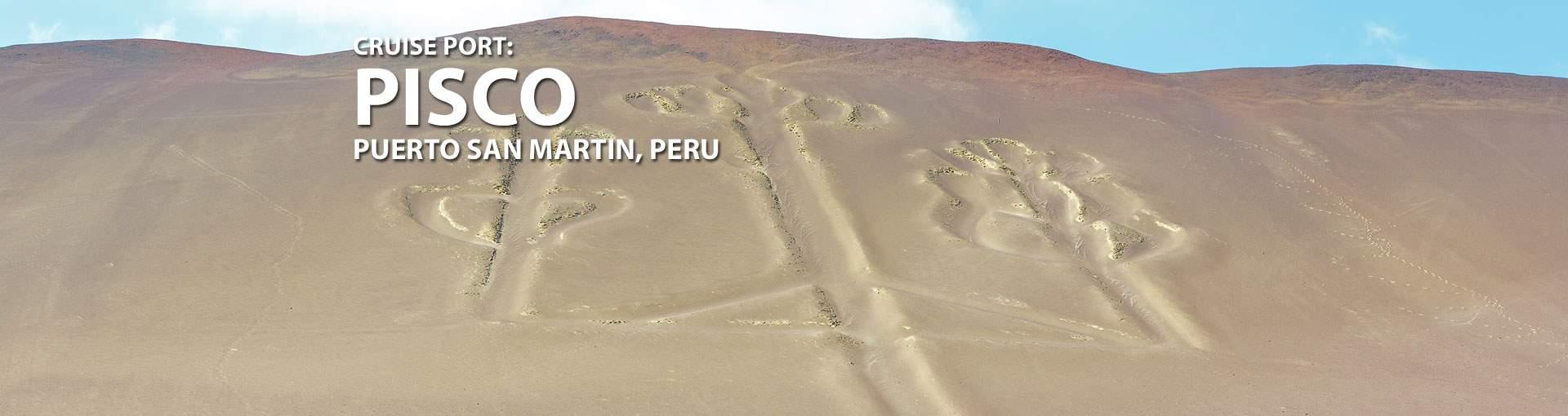 Cruises to Pisco, Puerto San Martin, Peru