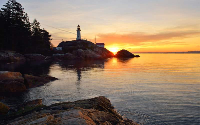 Point Stkinson Lighthouse West Vancouver BC
