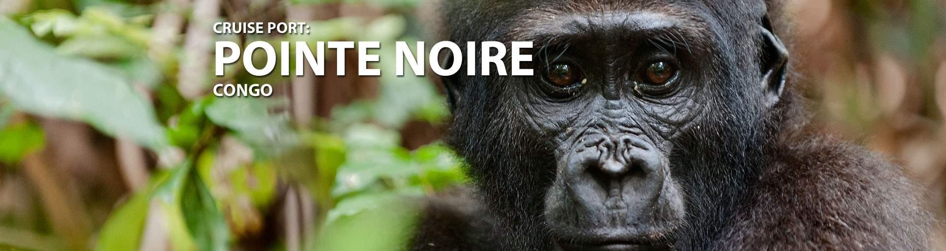 Cruises to Pointe Noire, Congo