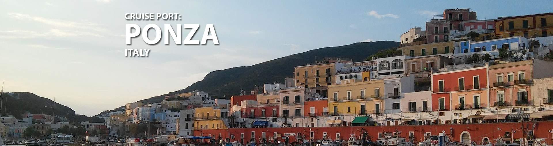 Ponza, Italy Cruise Port