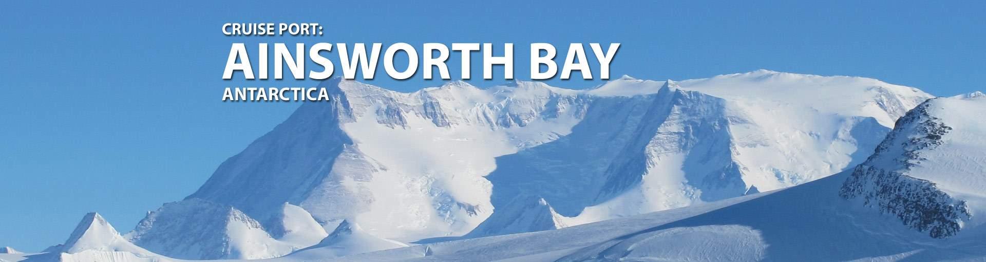 Ainsworth Bay, Antarctica Cruise Port