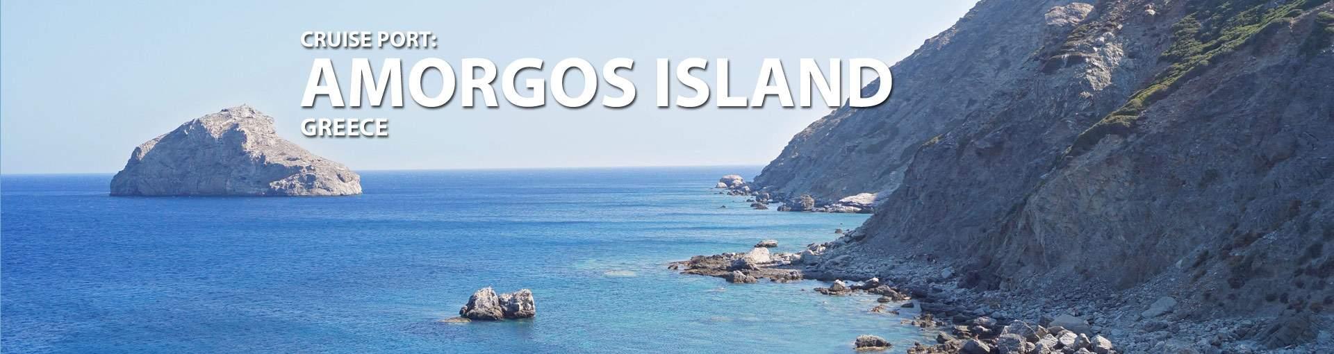 Amorgos Island, Greece Cruise Port