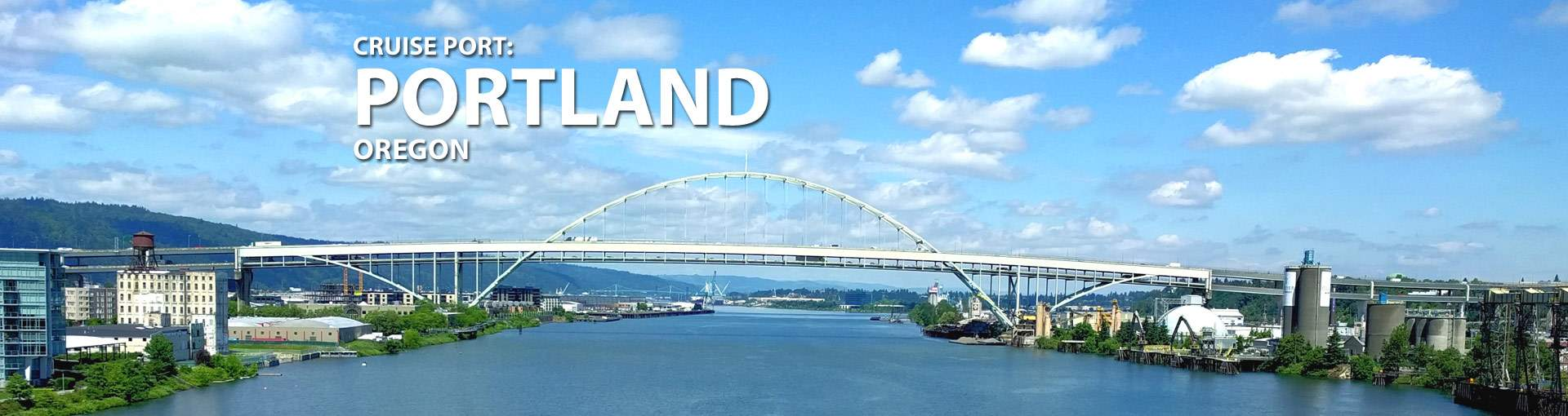 Portland, Oregon Cruise Port