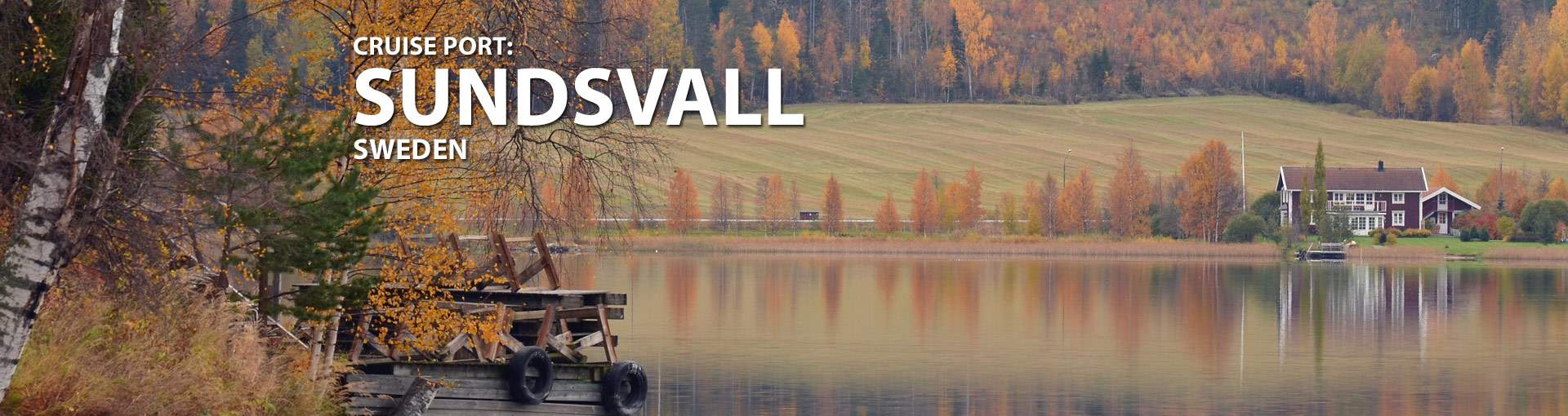 Sundsvall, Sweden Cruise Port