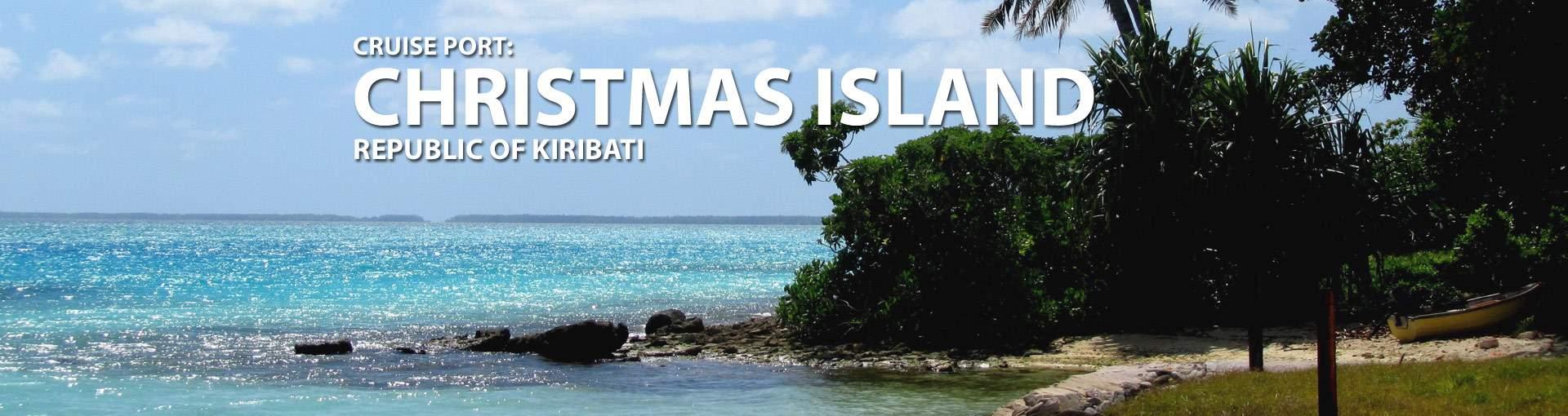Christmas Island, Kiribati Cruise Port