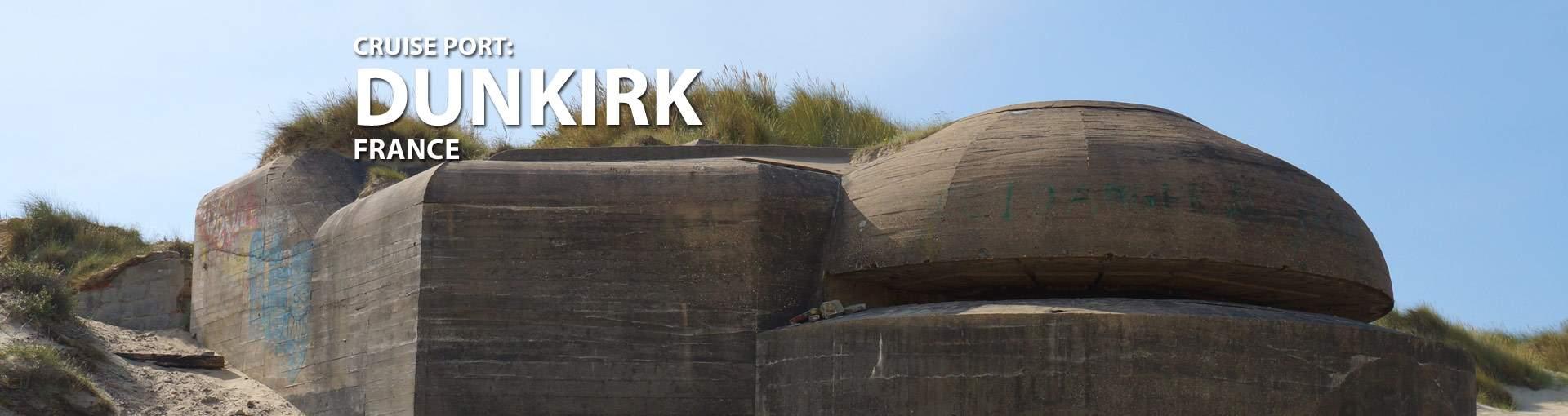 Dunkirk, France Cruise Port