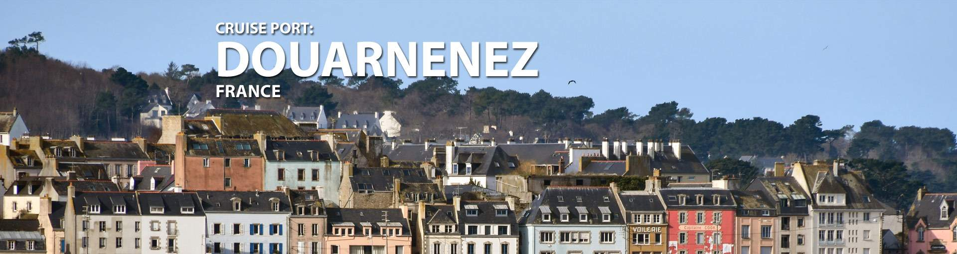 Douarnenez, France Cruise Port