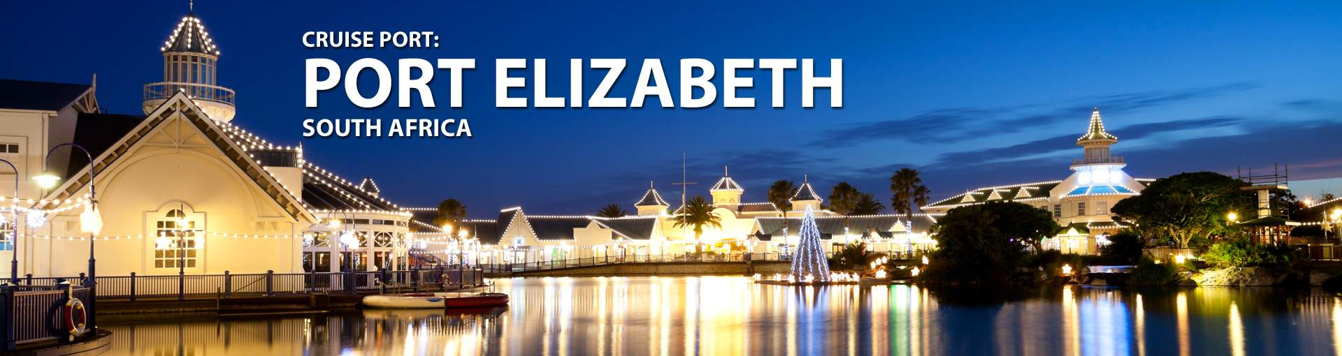 Cruises to Port Elizabeth, South Africa