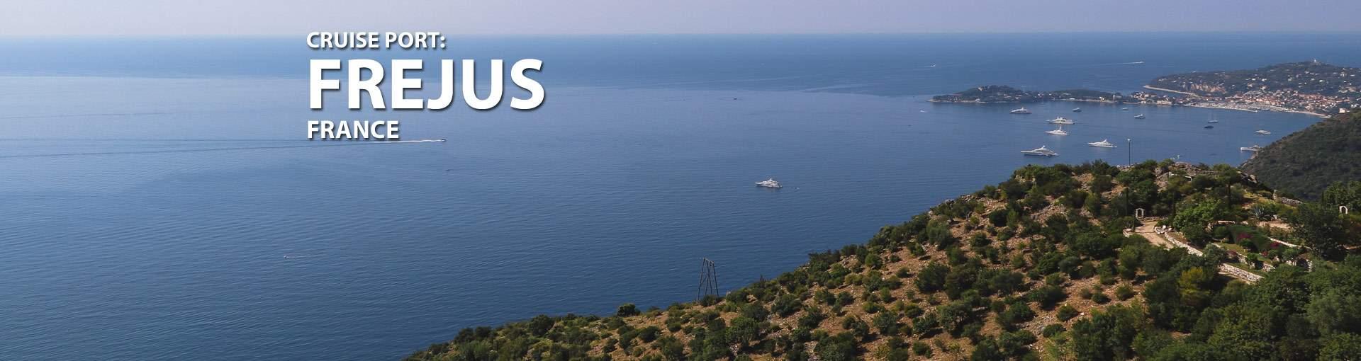Frejus, France Cruise Port