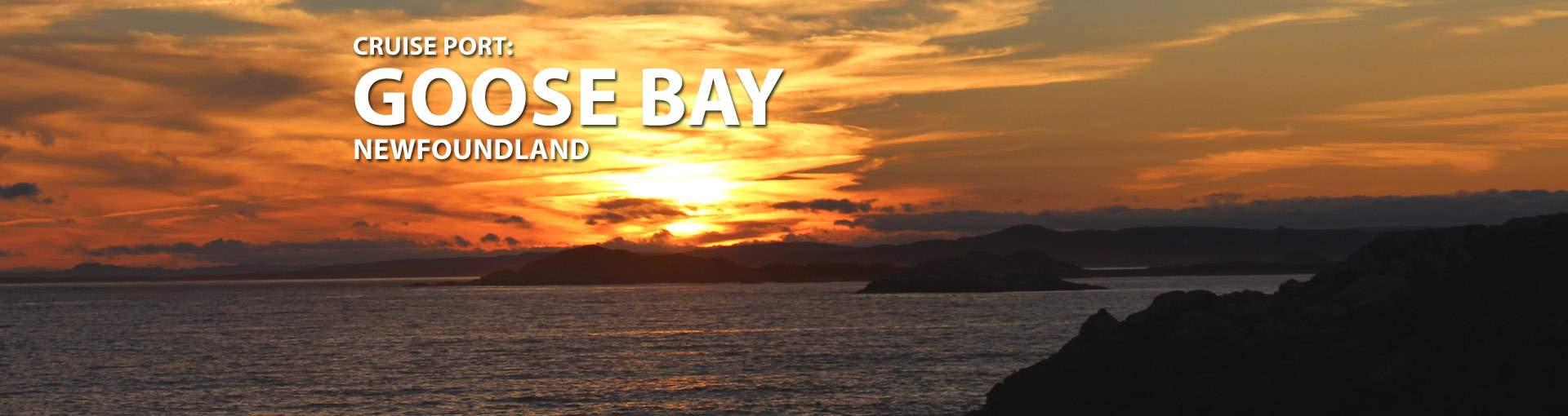 Goose Bay, Newfoundland Cruise Port