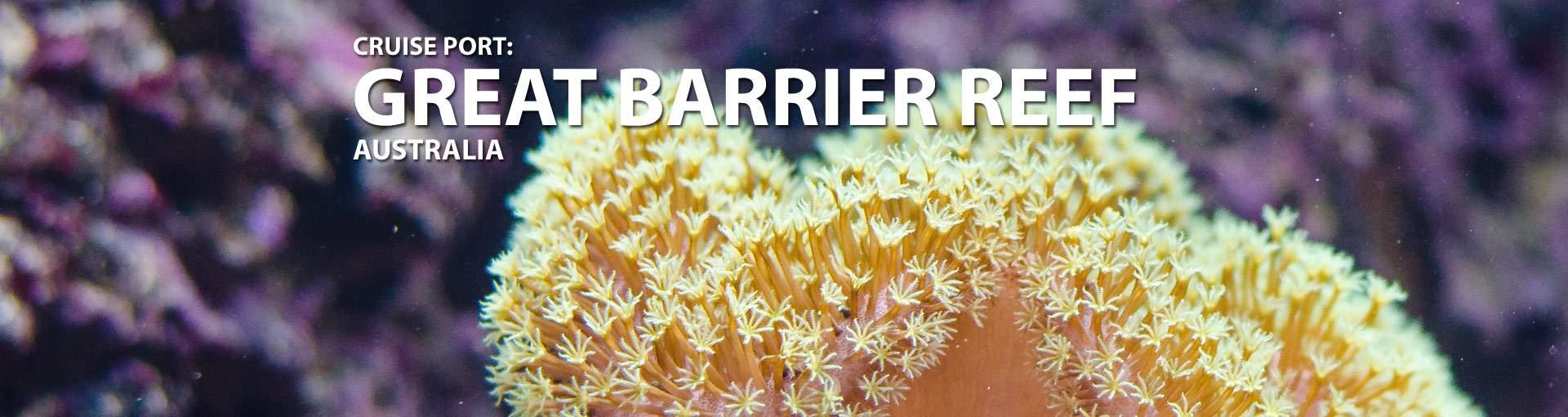 Great Barrier Reef, Australia Cruise Port