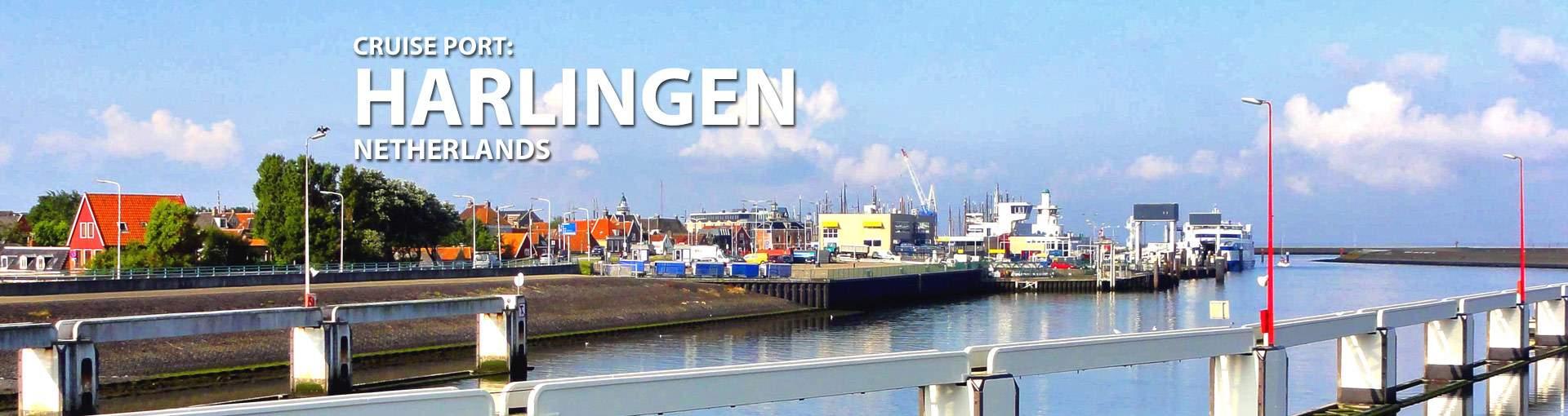 Harlingen, Netherlands Port