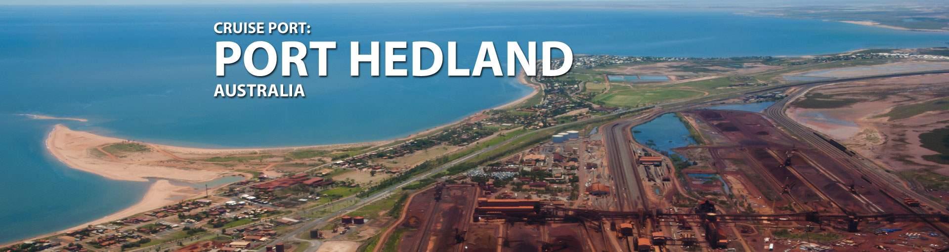 Cruises to Port Hedland, Australia