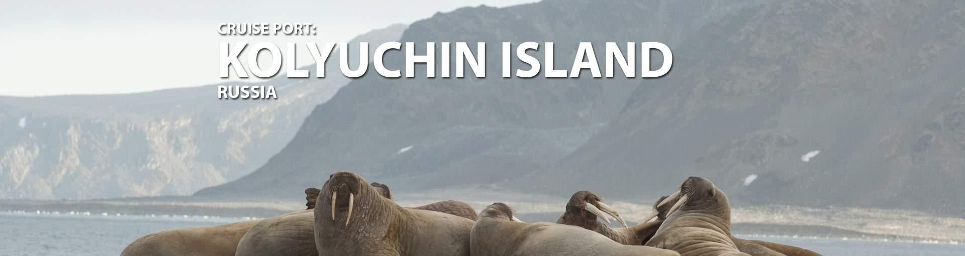 Kolyuchin Island, Russia Cruise Port