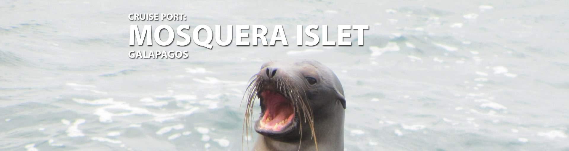 Mosquera Islet, Galapagos Cruise Port