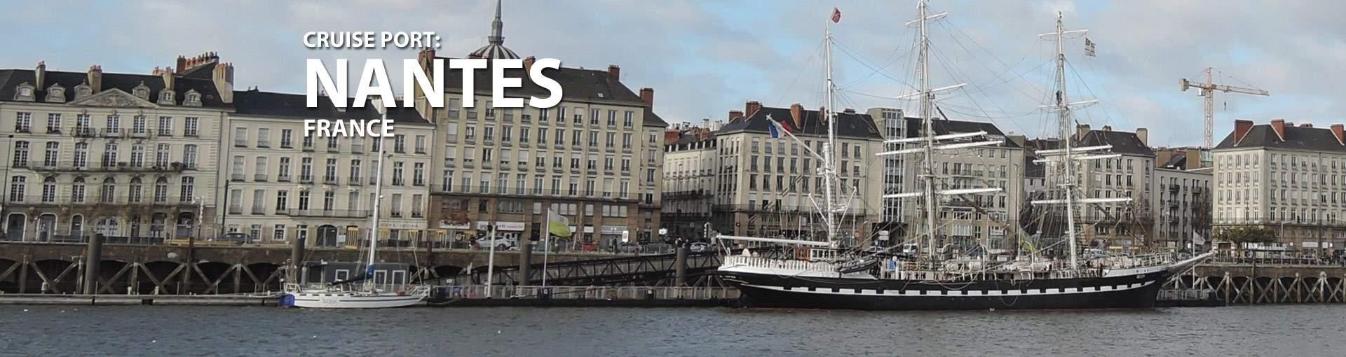 Nantes, France Cruise Port