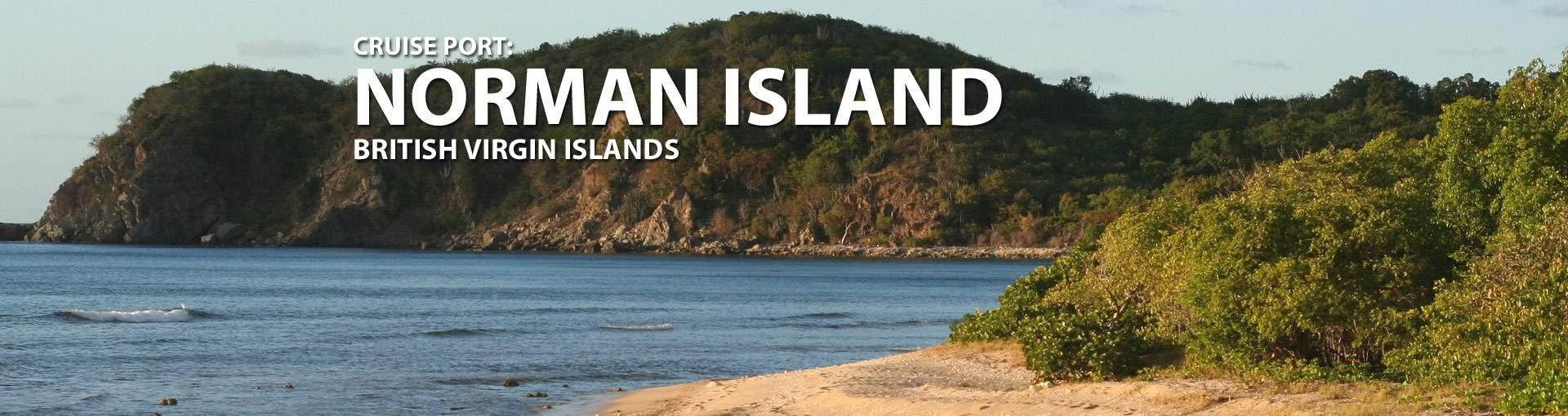 Norman Island, BVI Cruise Port