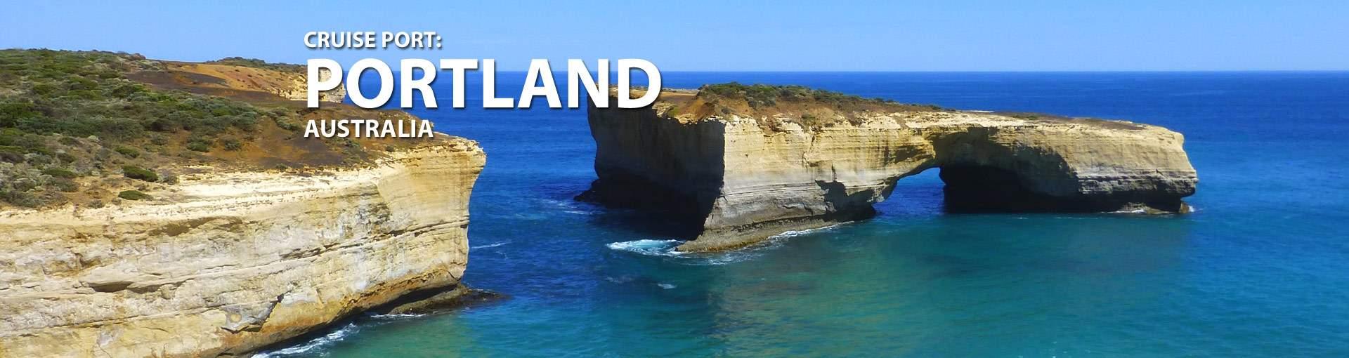 Portland, Australia Cruise Port