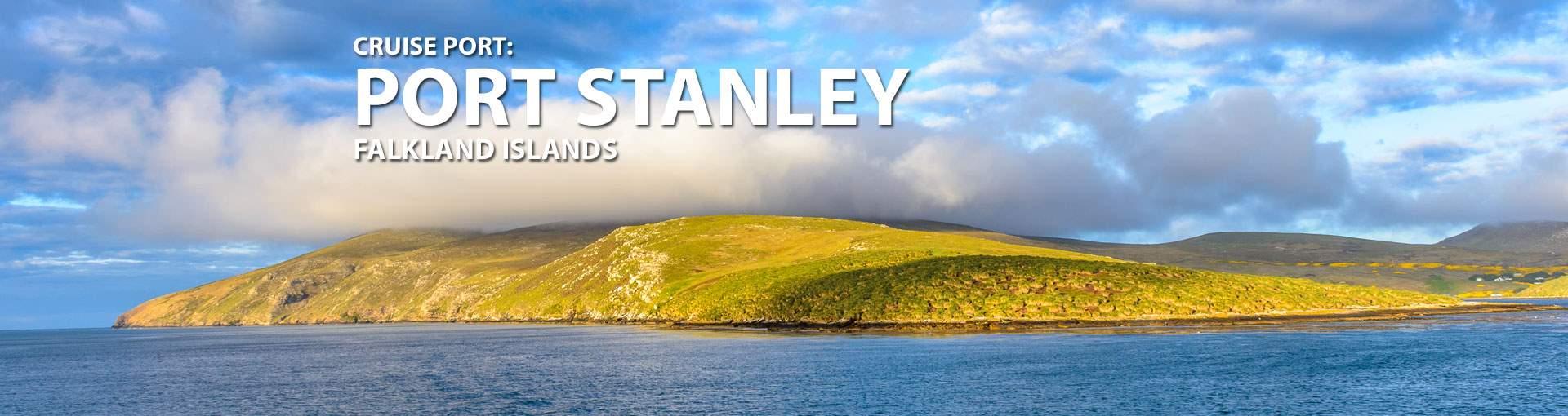 Cruises to Port Stanley, Falkland Islands