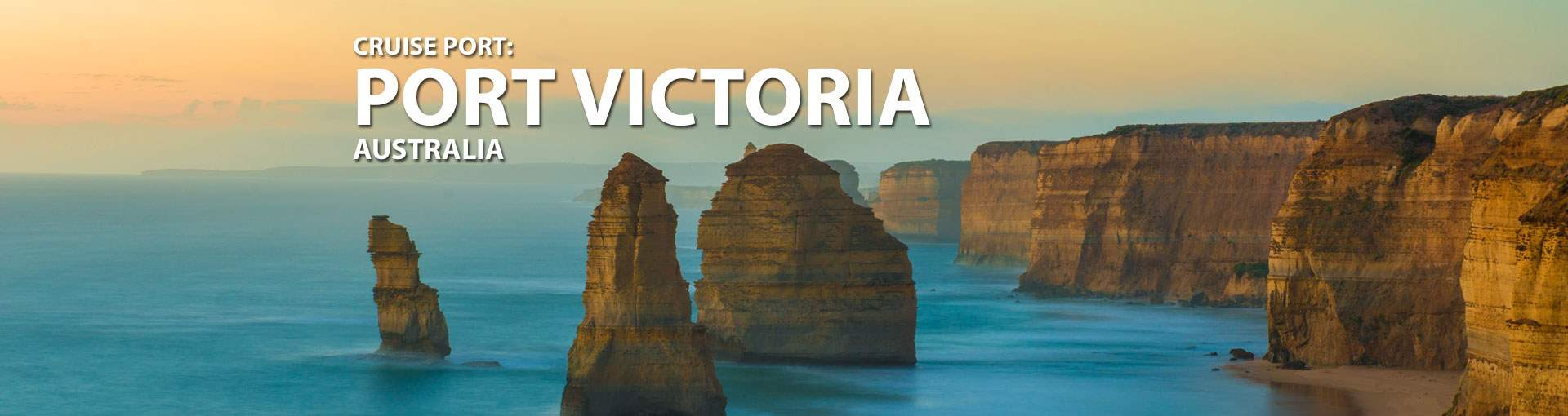 Cruises to Port Victoria, Australia
