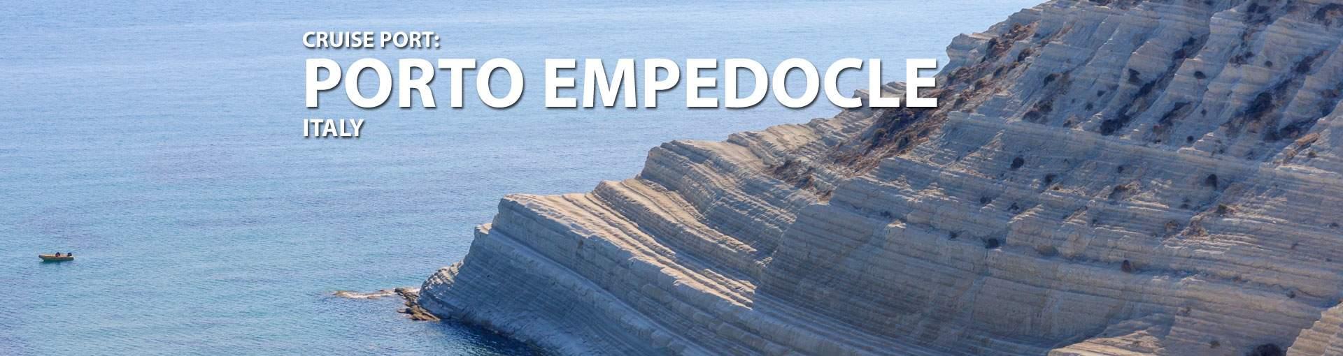 Cruises to Porto Empedocle, Italy